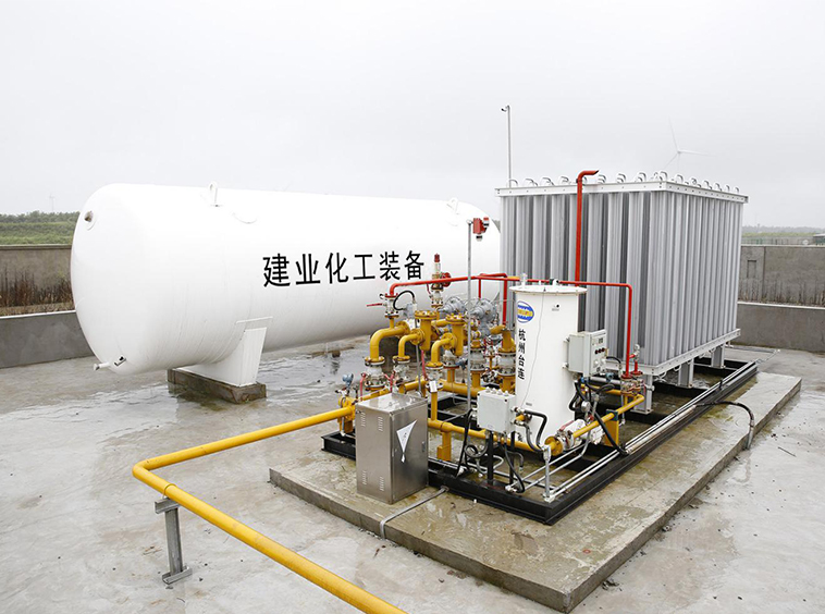 LNG gasification station