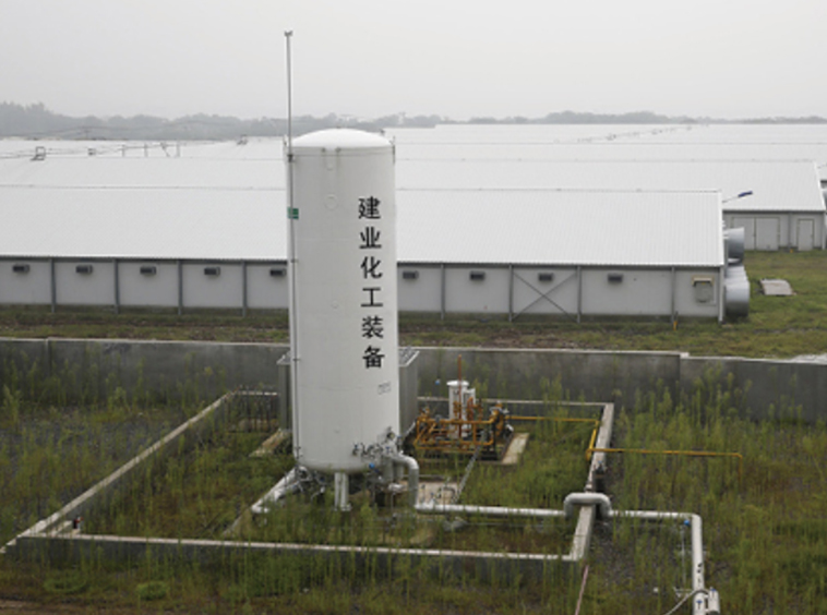 Farming and animal husbandry LNG gasification station