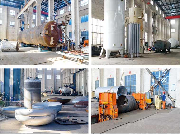 Non-standard pressure vessel equipment