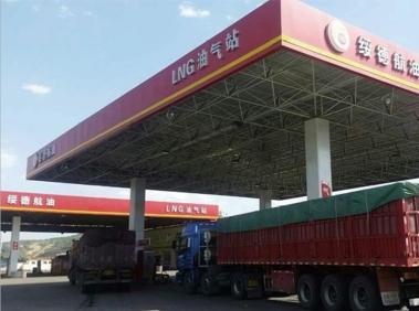 Natural gas filling station